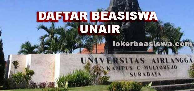 Daftar Beasiswa Universitas Airlangga