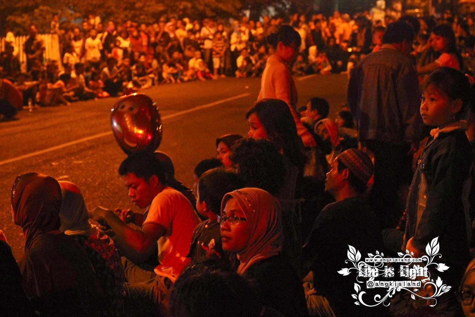 pawai festival takbir bantul