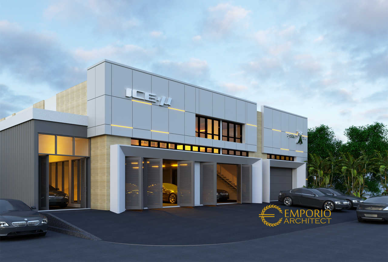 5 Inspirasi Desain Bangunan Kantor Pilihan Arsimedia Bangunan kantor modern