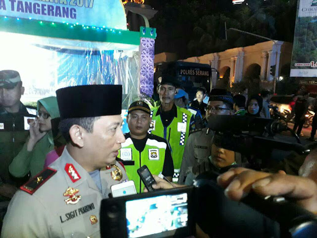 Pengamanan Malam Takbir di Kabupaten Tangerang