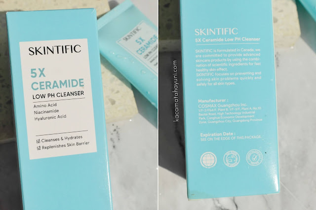 Review Skintific 5x Ceramide Low pH Cleanser