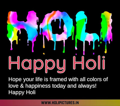 images of happy Holi with quotes