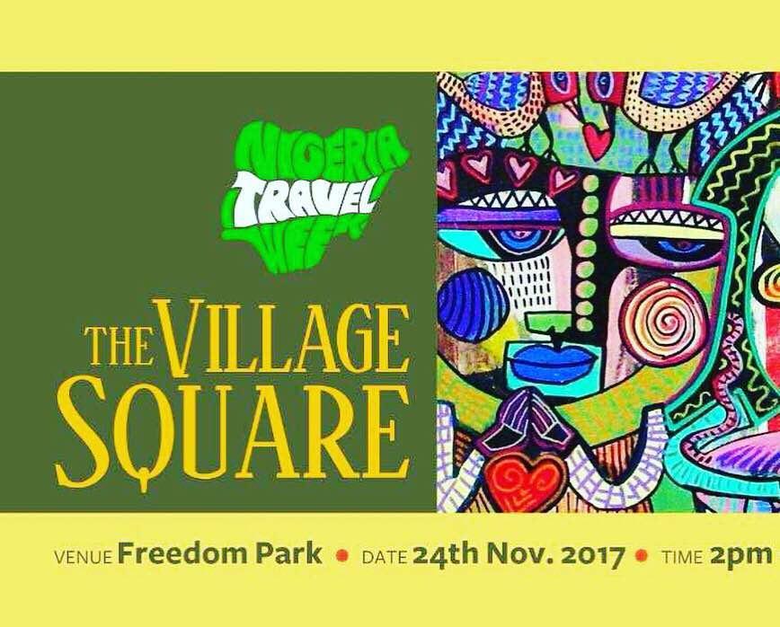 The village square, Esther Adeniyi, Nigeria travel week