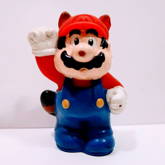 picture of retro game figure on white background