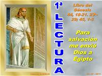 Resultado de imagen para En aquellos días, Judá se acercó a José y le dijo: «Permite a tu siervo hablar en presencia de su señor;