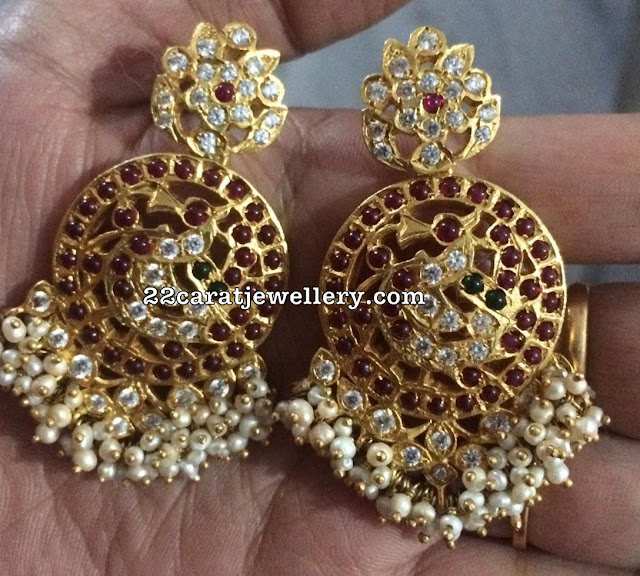 Silver Metal Latest Chandbalis Jhumkas