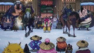 ワンピースアニメ 993話 ワノ国編   ONE PIECE