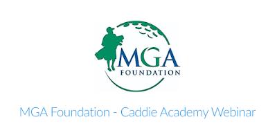 MGA Caddie Academies 2020
