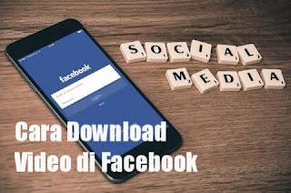 Cara download video di Facebook tanpa aplikasi maupun dengan aplikasi di hp android