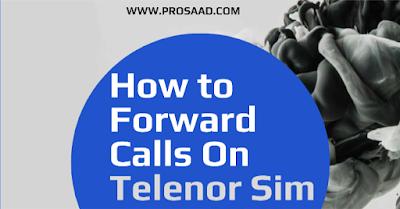 Telenor Call Divert Code 2021