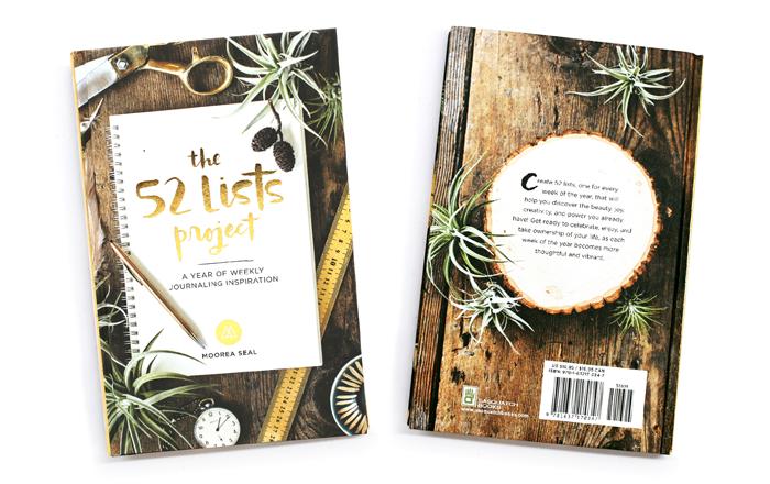 the 52 list project libros creativos