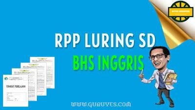 halaman ini dapat anda download Juga Contoh RPP Bahasa Inggris luring SD semester  Free Download RPP 1 Lembar Bahasa Inggris Kelas 5 SD K13 Semester 1