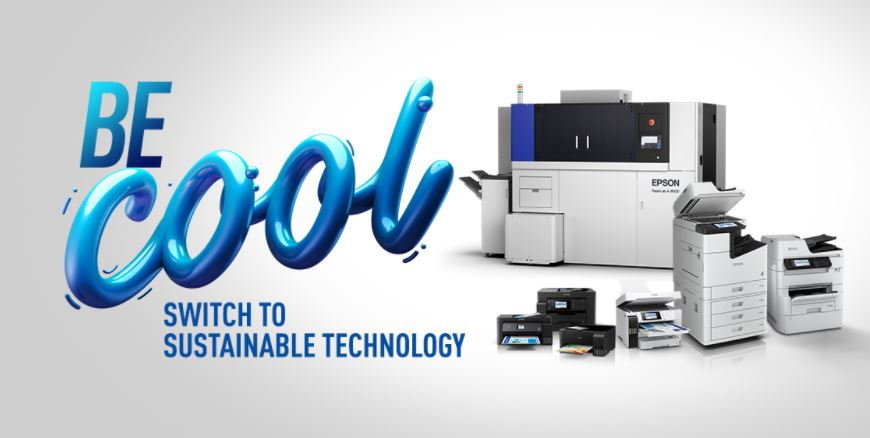 "Epson announces new printer sustainability campaign ""Be Cool"""