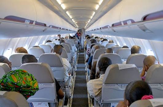 nigerian woman gives birth british airways
