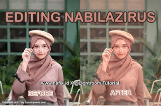 editing foto nabilazirus free preset download