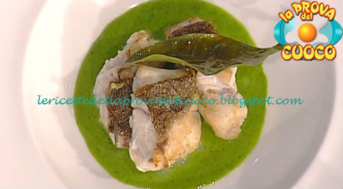 Filetto di cernia alle olive taggiasche ricetta Pascucci da Prova del Cuoco
