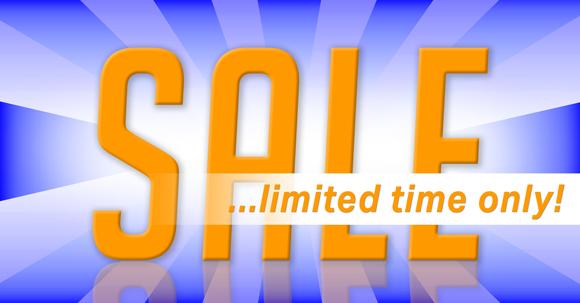 Header image of a Sale offer