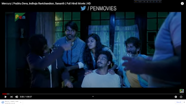 Mercury | Complete Hindi Movie | HD | Prabhu Deva, Indhuja Ravichandran, Sananth