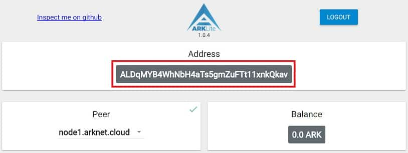 Coin ARK Wallet