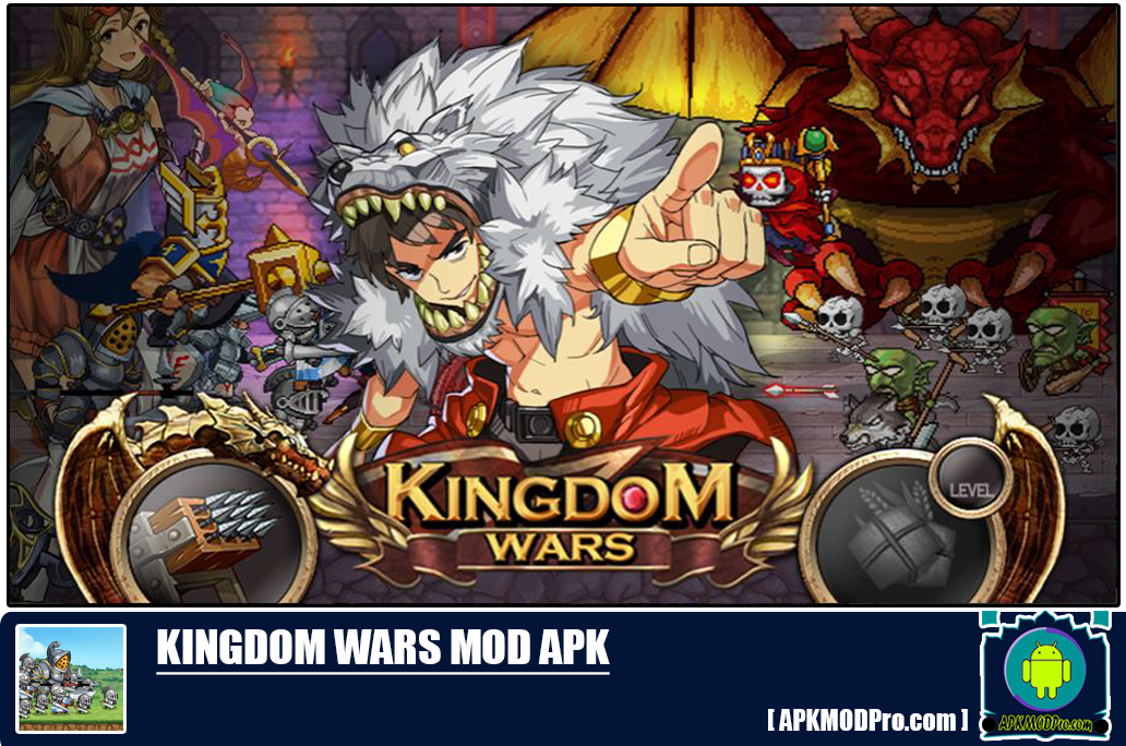 Kingdom Wars Mod Apk 1.6.0.5 [Unlimited Money] For Android