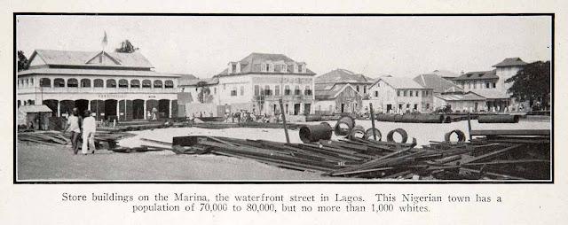 1925. Lagos, Nigeria, Africa - Historic Image - Print