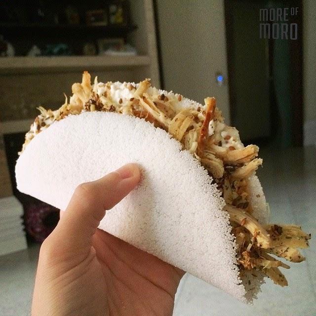 Receita: Como fazer tapioca fit em 5 minutos! Sem hidratar. sem trabalho e maravilhosa! ~ More of Moro - Por Gabriel Moro