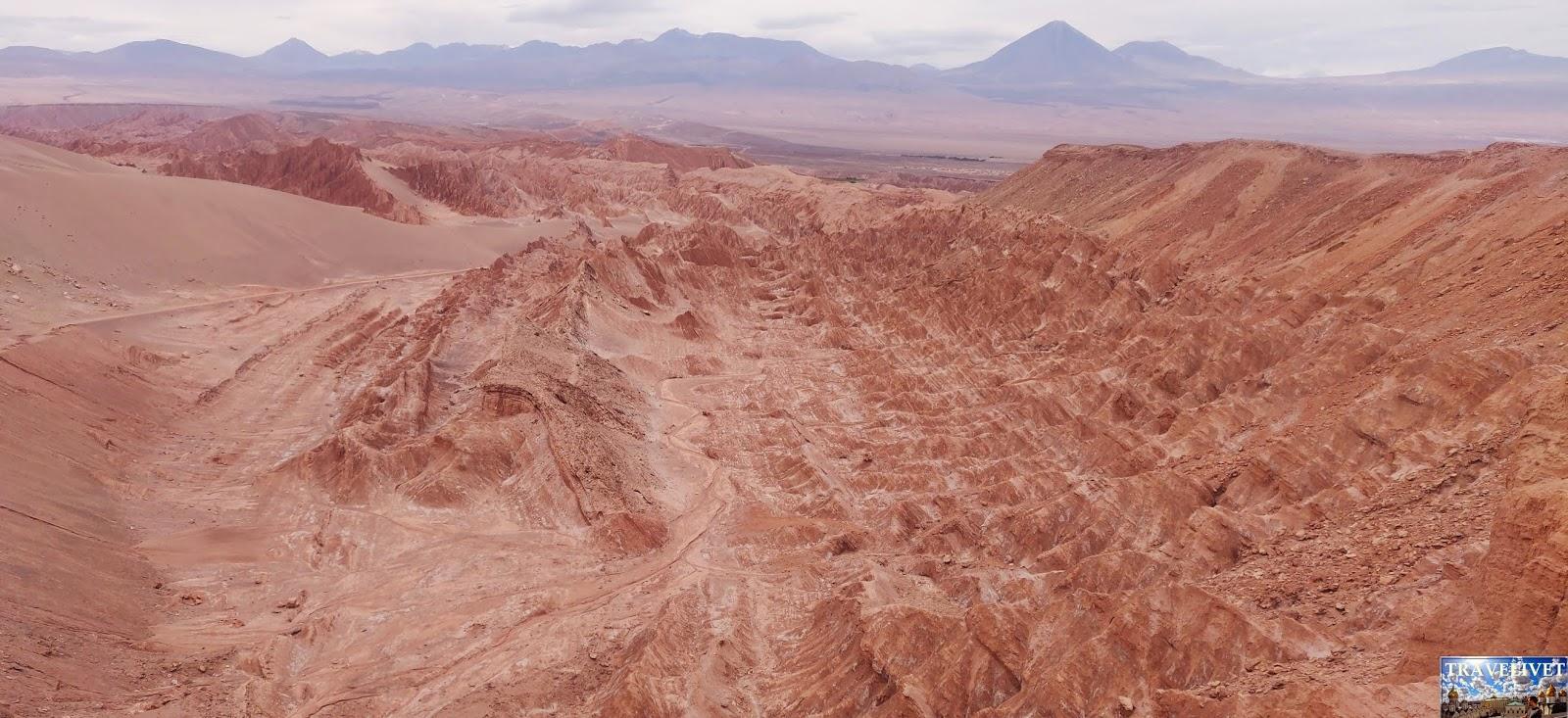 Chili Chile San Pedro de Atacama désert la vallée de la lune