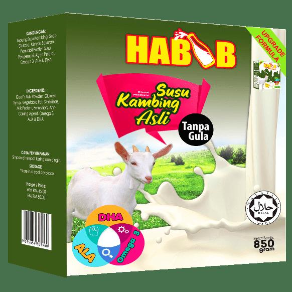 susu kambing habib untuk bayi