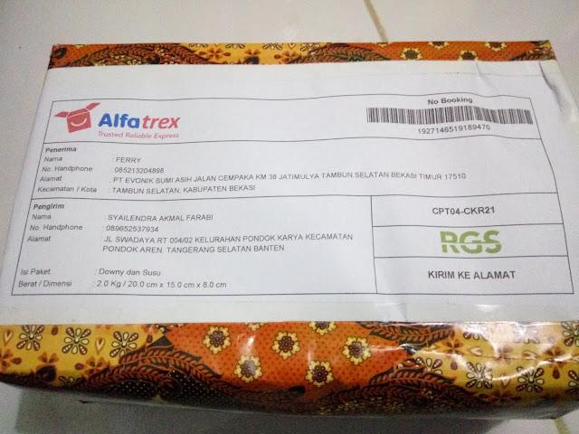 YUK Kepoin Cara Asyik Kirim Paket Melalui Alfatrex