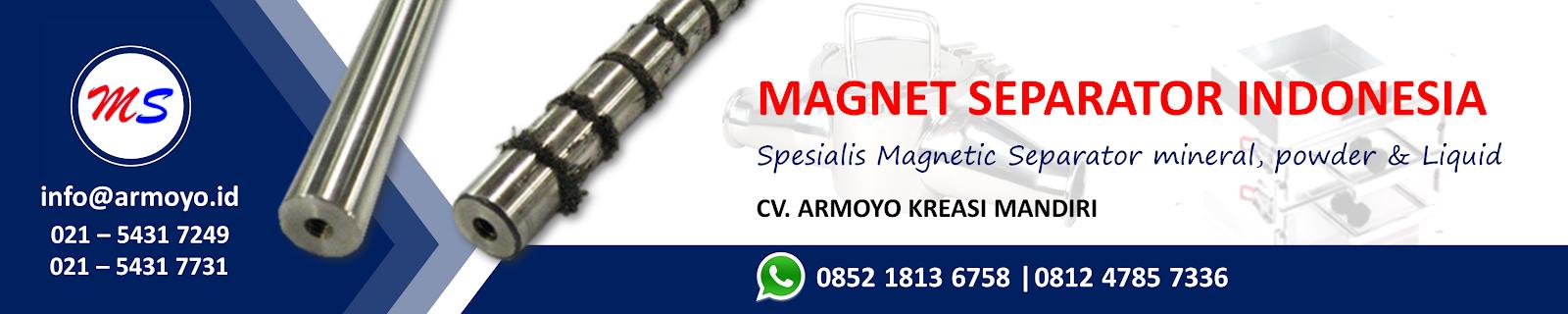 magnet separator indonesia