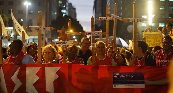 Manifestações foram realizadas em pelo menos 126 cidades de 25 estados brasileiros e no Distrito Federal.
