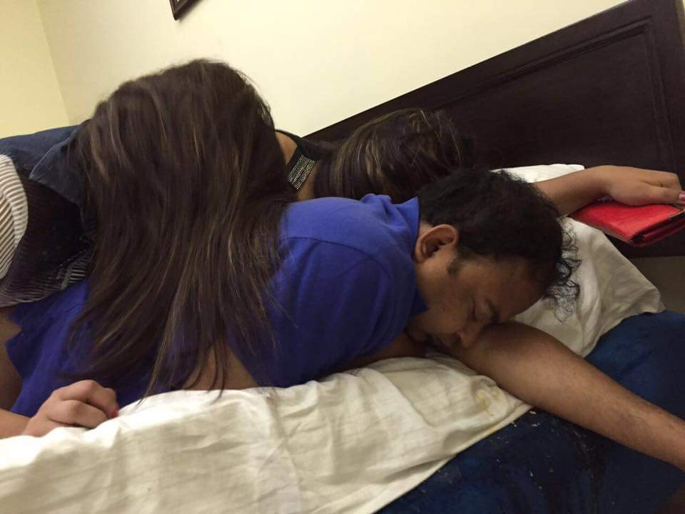 Viral: IAS officer's raunchy pictures with two young girls in hotel room