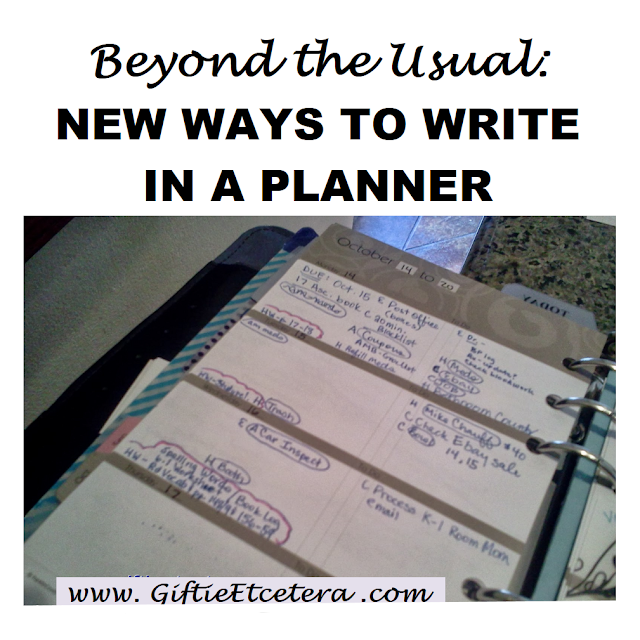 writing in a planner, planner tips and tricks, planner hacks