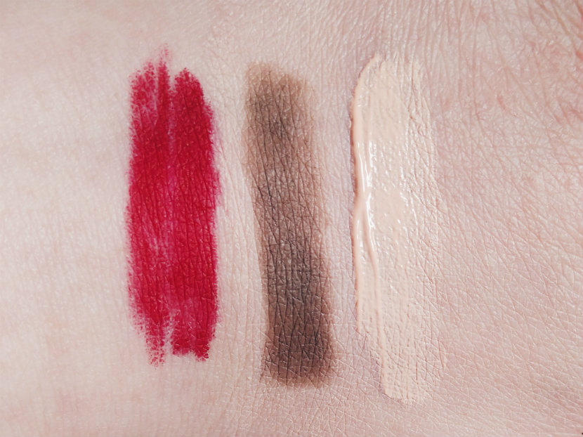 Beauty Basics (swatches)