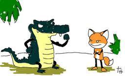 la-zorra-y-el-cocodrilo