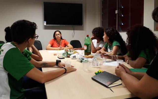Estudantes de Biotecnologia desenvolvem ações de prevenção à violência doméstica