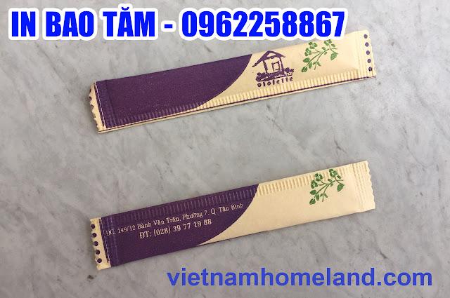 Xưởng in bao tăm giá rẻ tại Tây Ninh