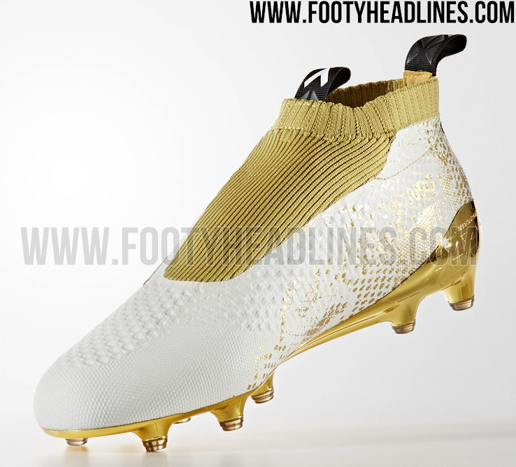 White   Gold Adidas Ace 16+ PureControl Stellar Pack Boots Released - Footy  Headlines 959d3b9ca