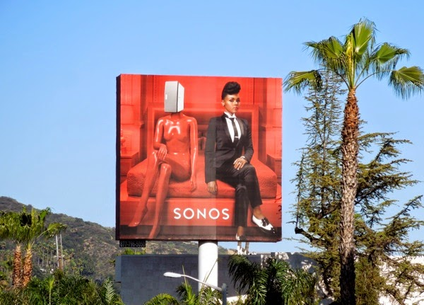 Sonos Janelle Monáe billboard Feb 2013