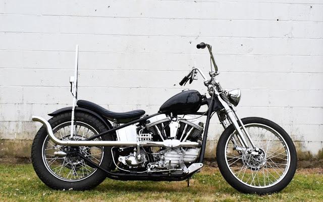 Harley Davidson Panhead By Bobmingee Hell Kustom