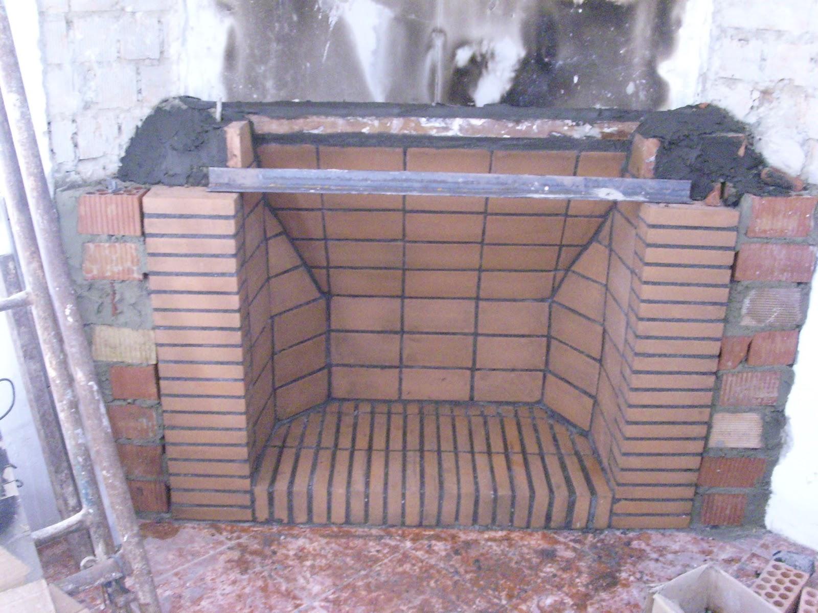 Construcci n tradicional geom trica como construir una - Como hacer chimeneas de lena ...