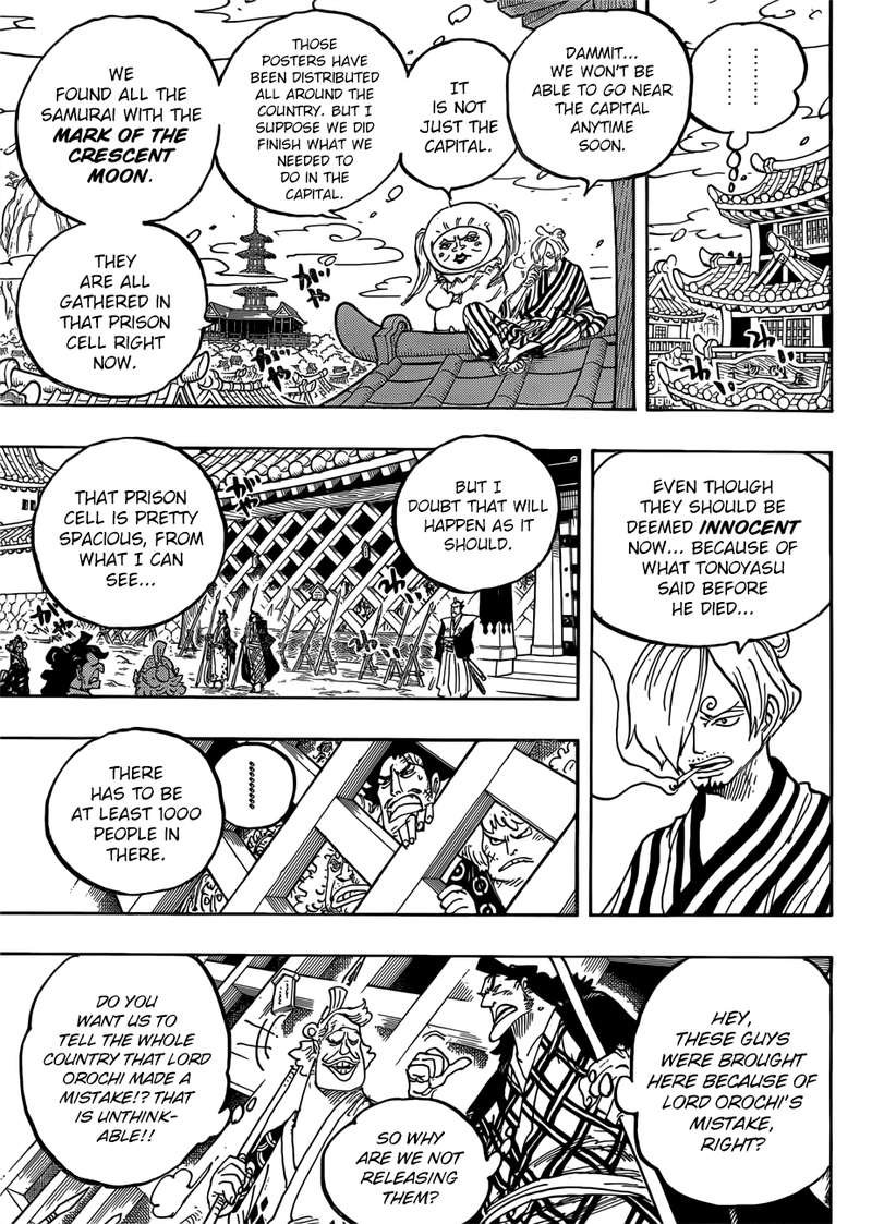 One Piece Manga Chapter 951 - Image 005