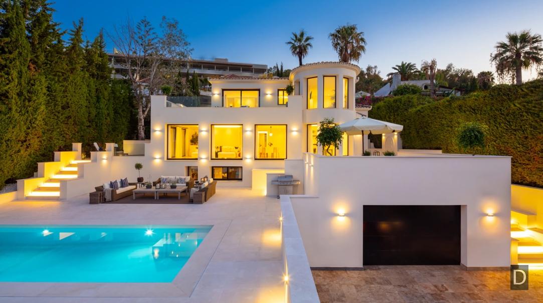 Nueva Andalucia, Marbella Luxury Villa vs. 39 Interior Design Photos