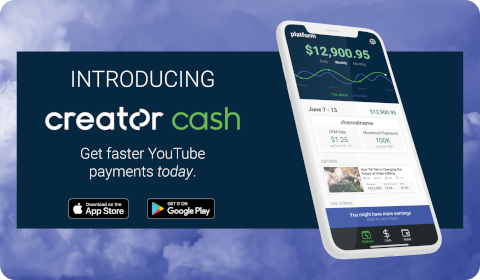Introducing Creator Cash