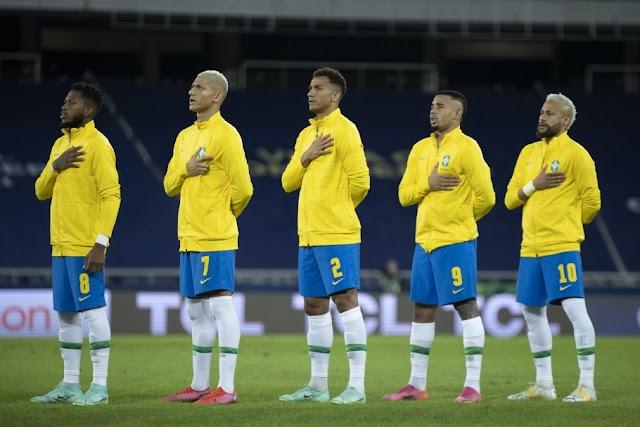 Brasil e Chile duelam pelas quartas de final da CONMEBOL Copa América 2021