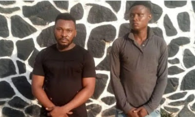 Two Friends Charged For Gang-Raping And Filming 19-Year-Old Girl In Ogun