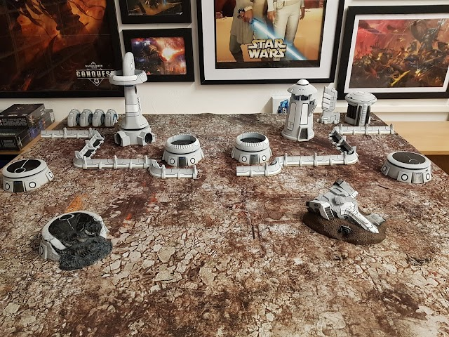 What's On Your Table: 3d Printed Tau Town