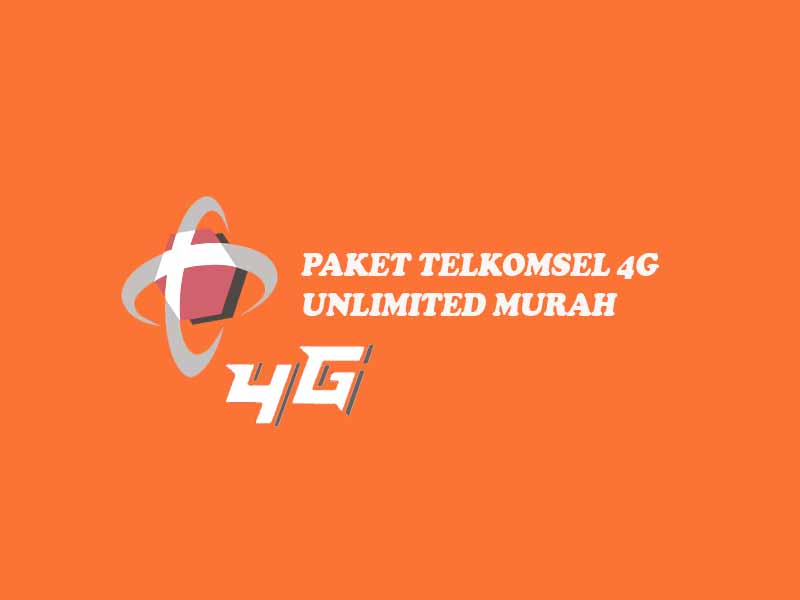 paket telkomsel 4g unlimited, paket internet murah telkomsel