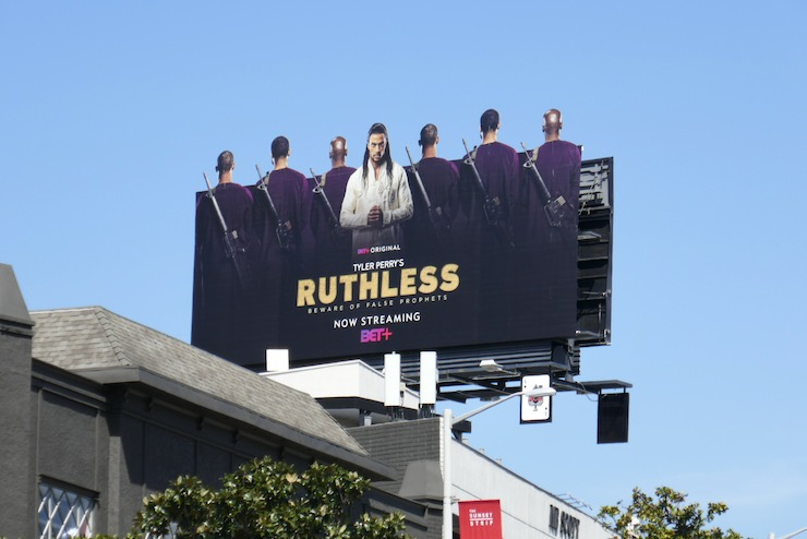 Ruthless extension cut-out billboard