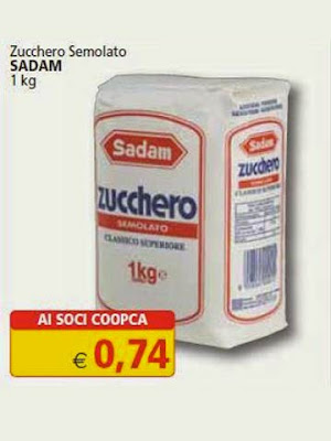 Confezione di zucchero semolato Sadam